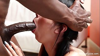 Marica Hase Interracial suck and pound