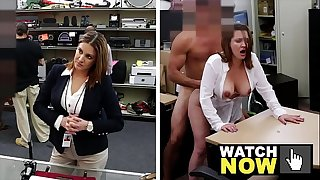 XXX PAWN - Business Lady Enjoys Her Husband, But She Also Needs Cash