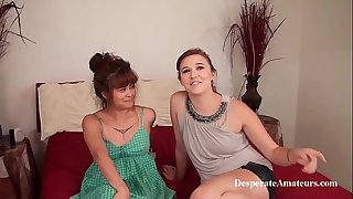 Moist casting desperate amateurs compilation firm sex money Charlie, Astrid, Stephie, and Tia
