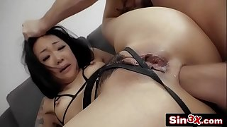 Submissive Korean GF Ass-Fucked By a Douchebag - Saya Song