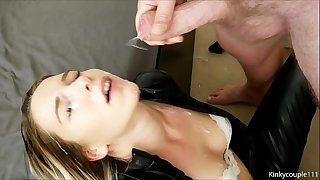 Massive cumshot & huge ejaculations - kinkycouple111