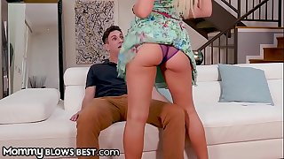Hottest StepMom Cherie Deville Rewards StepSon for Good Grades!
