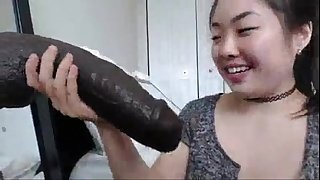 Asian bitch is fucking cute