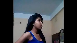 bengali school girl fingering pusy and pressing boobs