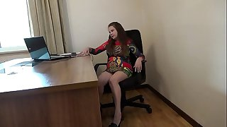 I masturbate in the office
